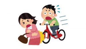 自転車加害事故・保険見直し